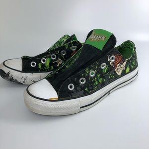 Limited Edition Rare Converse Poison Ivy Sneakers